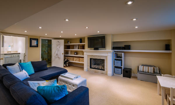 Basement Renovations by Go Custom Builders